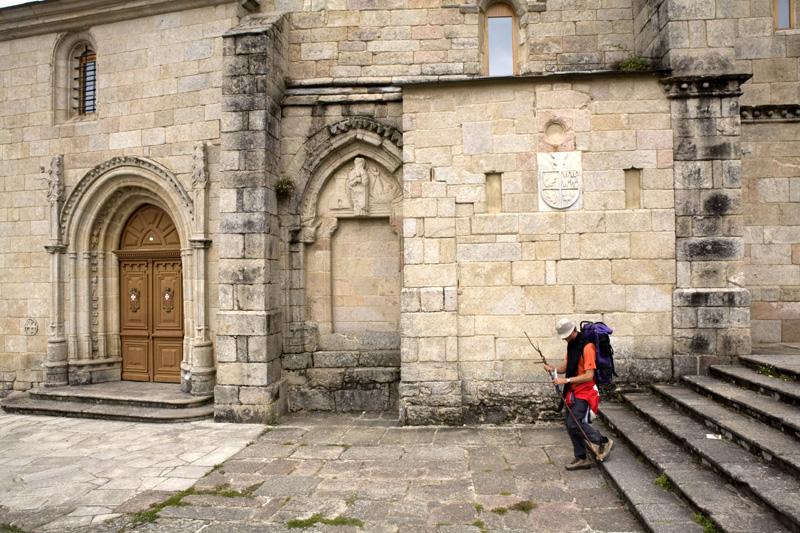 O Mosteiro da Madalena de Sarria: A Arquitectura
