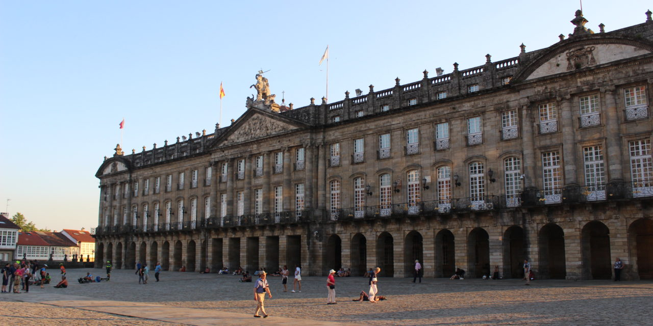 SANTIAGO: The Palace of Raxoi