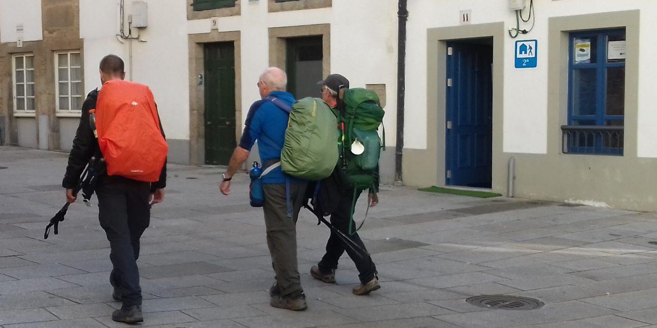 Pilgrims continue to arrive in Santiago this December!