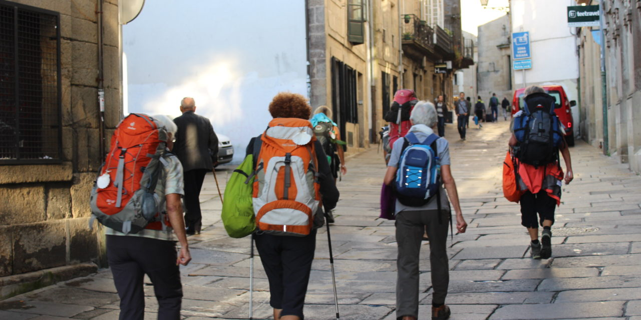 The number of Compostelas soaring: At the end of March on some days more than 500!