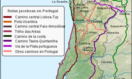 El Camino Portugués: Itinerarios, etapas, distancias