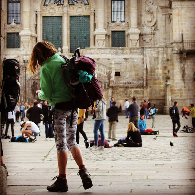 Stop for the necessary time … but don't forget the Camino! Don't forget your dreams!