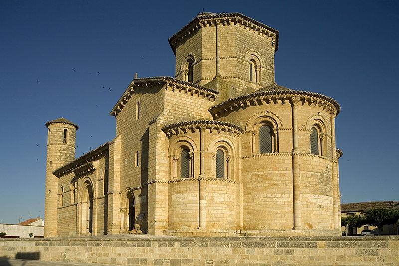 The church of St. Martín de Frómista