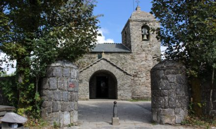 The church of O Cebreiro