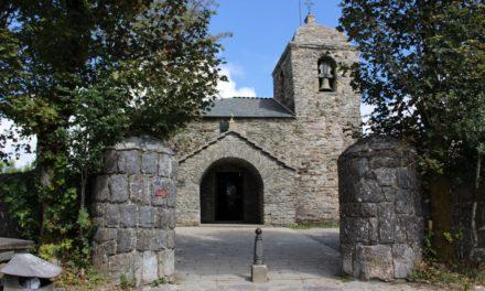 La iglesia de O Cebreiro