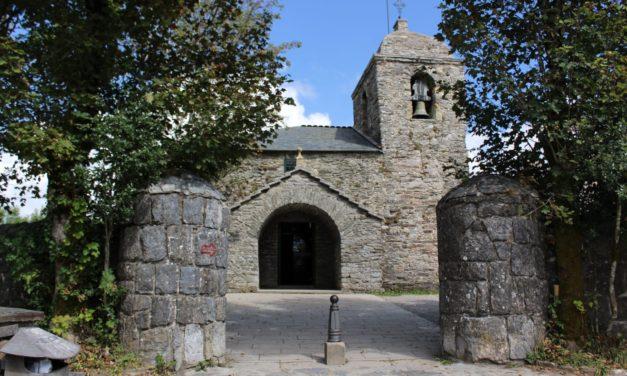 The church of O Cebreiro