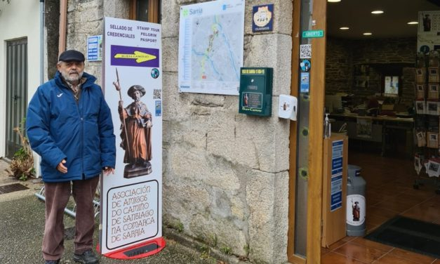Holy Year 2021: Jorge López Rodríguez, president of the Association of Friends of the Camino de Santiago of Sarria