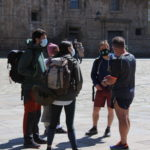 194 pilgrims arrived in Santiago in March: Most were Spanish, but also from many European countries, Asia and America!