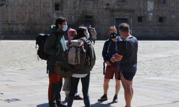 194 peregrinos llegaron a Santiago en marzo: Mayoría de españoles, muchos países de Europa, Asia y América!