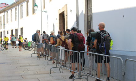 July and August confirm the recovery of the Camino: every day more than 1.000 pilgrims arrive in Santiago!