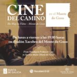 Film cycle on the Camino de Santiago in Monte do Gozo