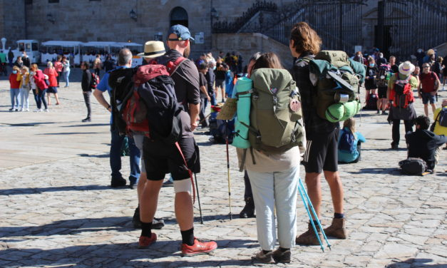 The Way is reborn: 37,465 pilgrims in September, the month in which the return of foreigners was consolidated!!